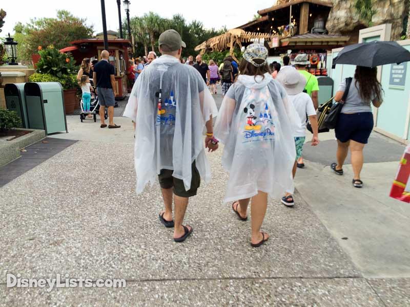 Disney Rain Ponchos