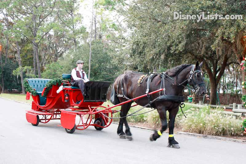 Sleigh Ride at Fort Wilderness