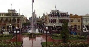 Rainy Day at Magic Kingdom