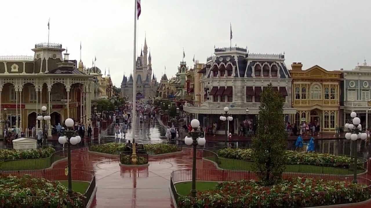 Rainy Day at Magic Kingdom