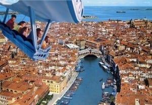 Soarin' over Venice