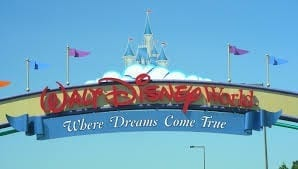Walt Disney World Entrance Sign