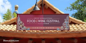 Food & Wine Coming Soon