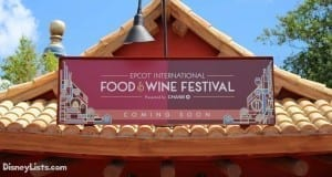 Food & Wine Coming Soon