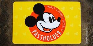 annual passholder card