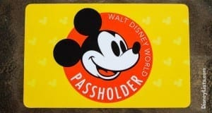 annual passholder card