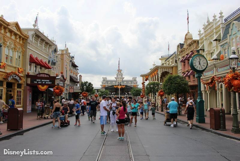 Less Crowded Main Street