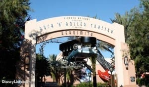 Rock n Roller Coaster Entrance