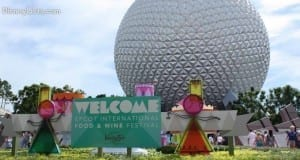 Epcot F&W Entrance