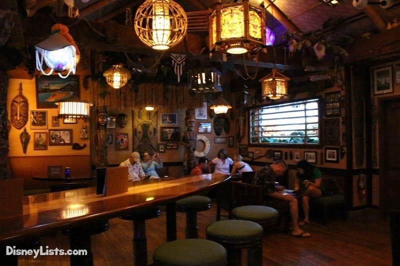 Trader Sam's Interior