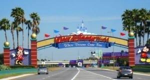 Disney World Entrance Sign