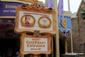 Anna & Elsa FastPass
