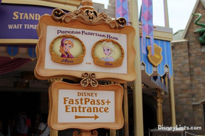 meet anna and elsa disney world fastpass reservations