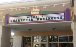 Disney Character Warehouse