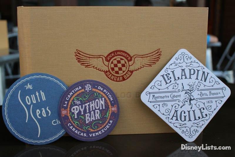 Hangar Bar Coasters