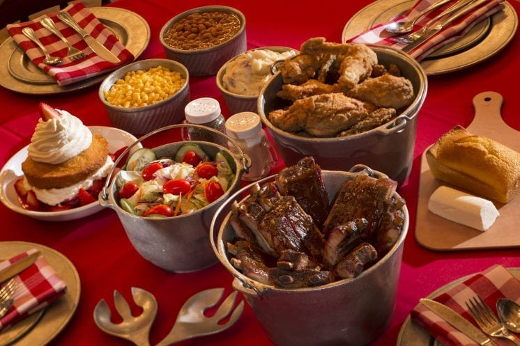 Hoop-Dee Doo Review Food