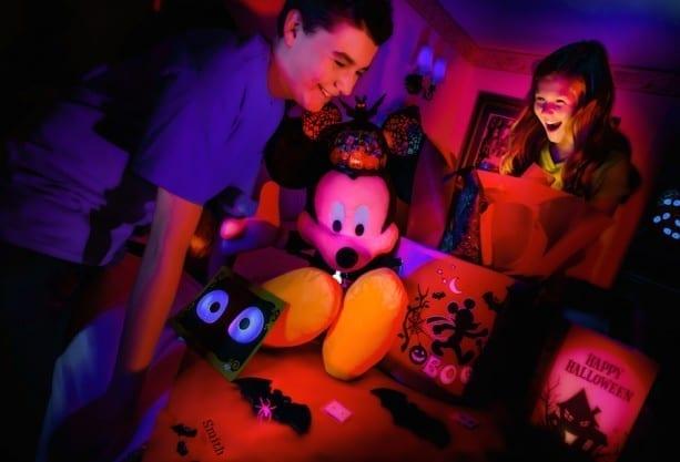 Mickey Spooky Gift Basket