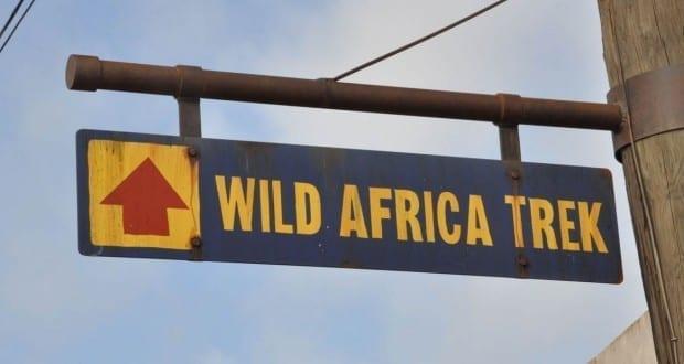 Wild Africa Trek Sign