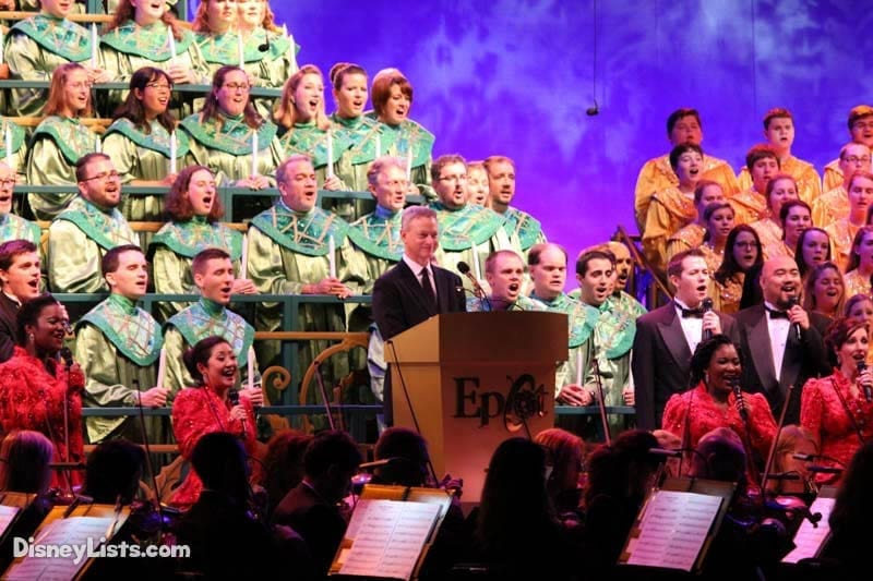 Candlelight Processional Narrator Gary Sinise