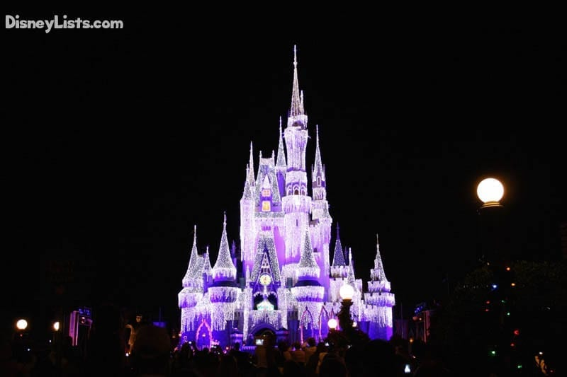 Cinderella's Castle Christmas Lights