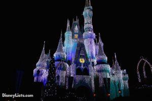 Castle Christmas Lights