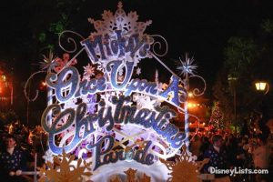 Mickey's Christmas Parade