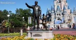 Magic Kingdom Partners Statue