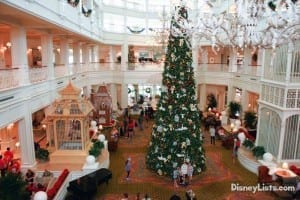 Christmas at Grand Floridian