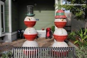 Snowmen Sculpture