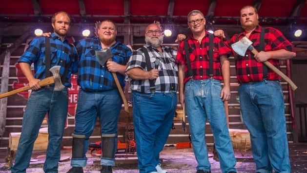 Canadian Lumberjacks Epcot