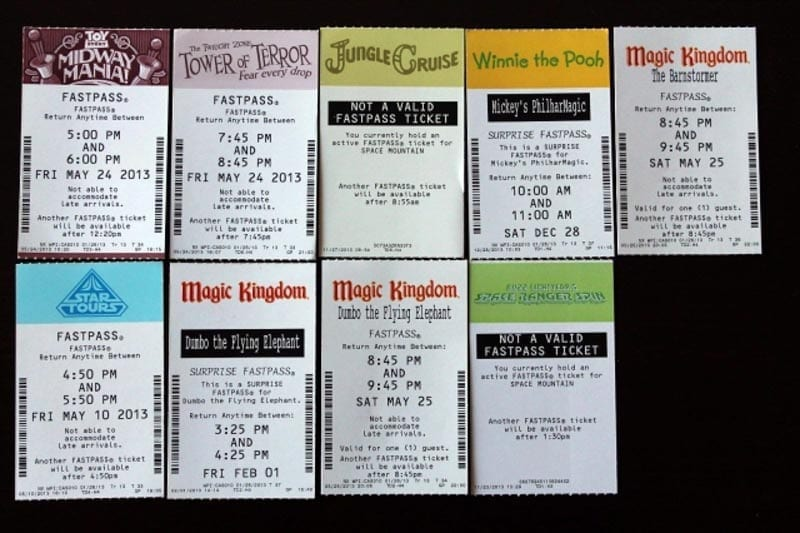 Paper FastPasses