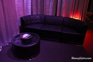 Club Disney Couch and charging station