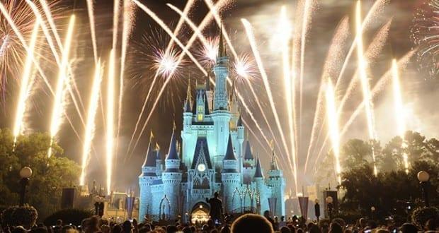 Magic Kingdom New Year Fireworks