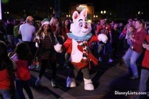 White Rabbit Dancing