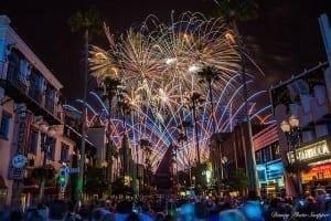 Hollywood Studios Fireworks