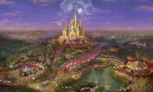 Disneyland China Concept Art