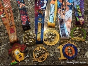 Disney World Marathon Weekend Medals