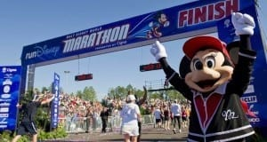 Disney Marathon Finish Line