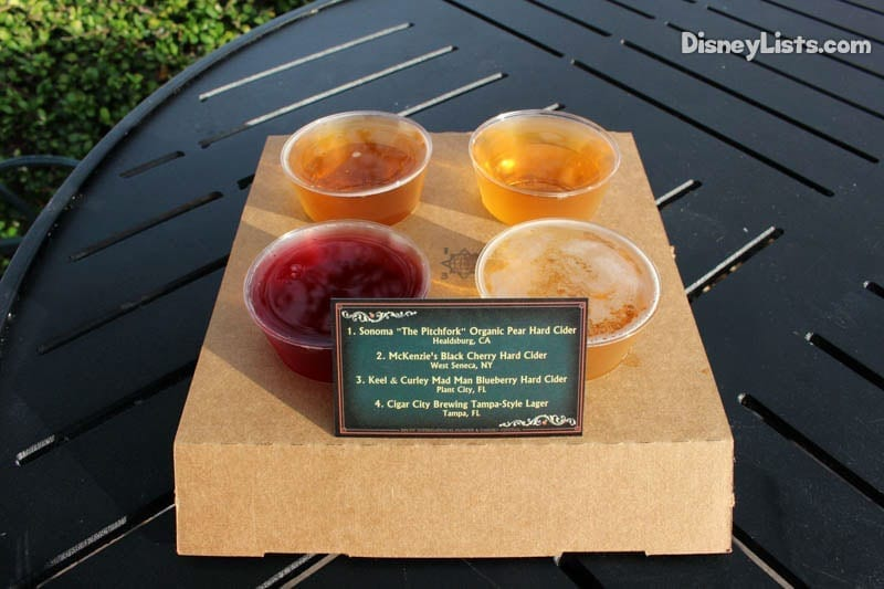 News Disney Releases Full Menu For Flower Amp Garden