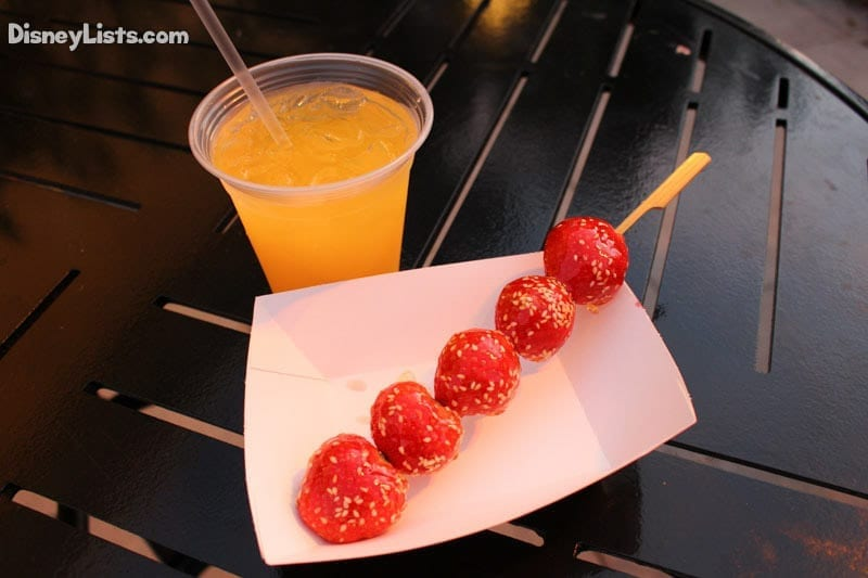 Candied Stawberries and Kung Fu Punch-Lotus House