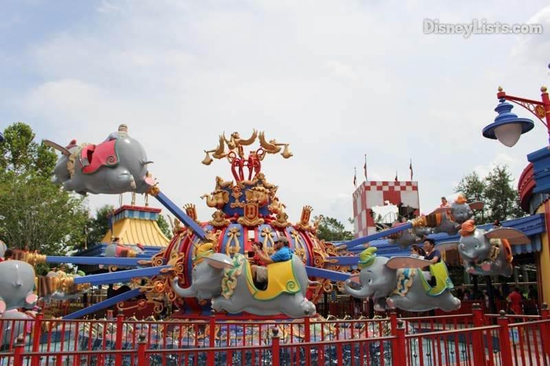 Dumbo & Magic Kingdom From A to Z u2013 DisneyLists.com