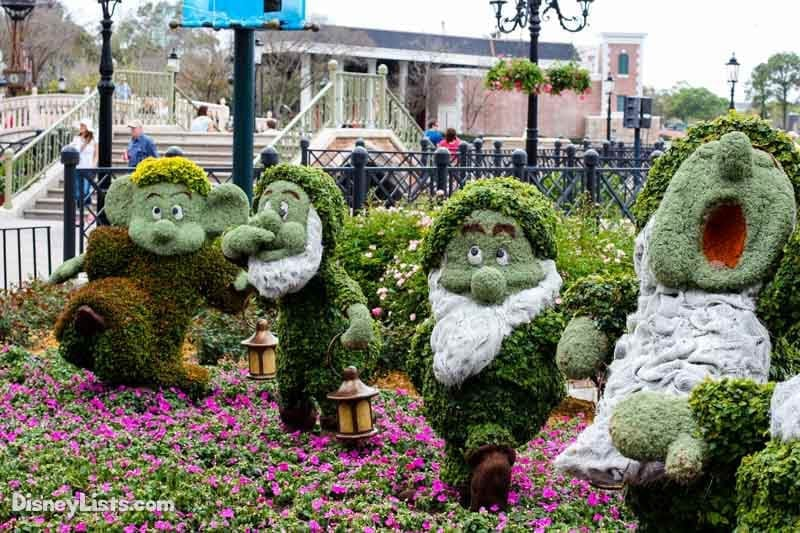 Dwarf Topiaries