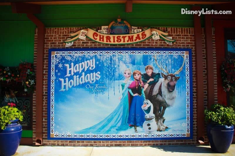 Frozen Happy Holidays