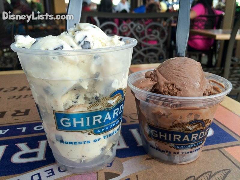 Ghirardelli Ice Cream