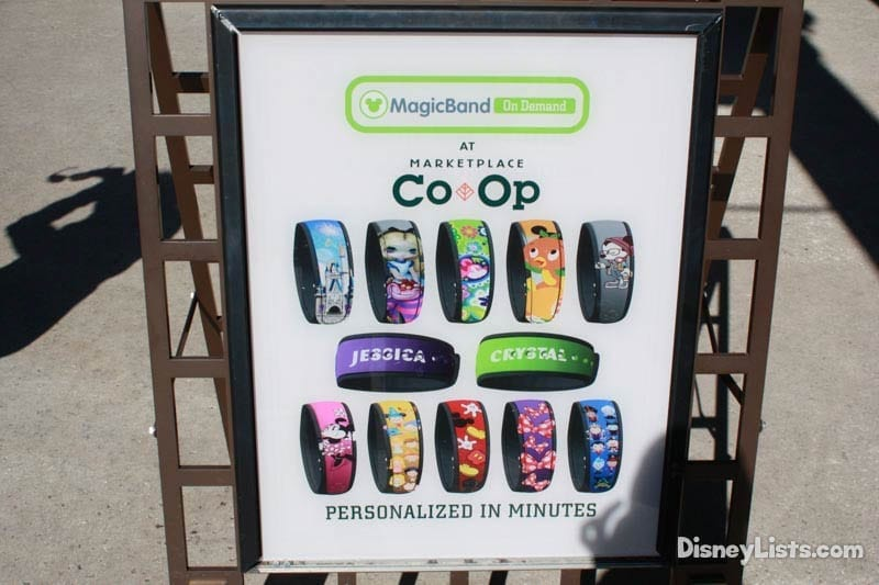 Personalize Magic Bands