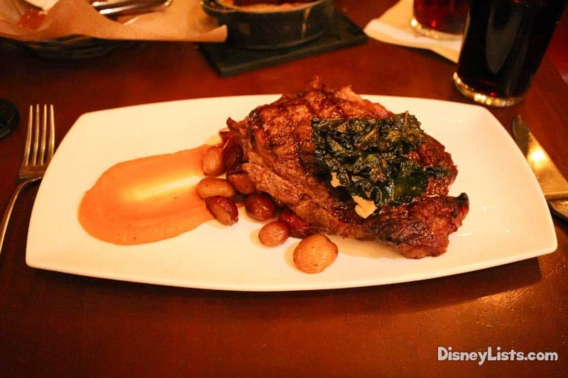 The Rib Eye at Le Cellier