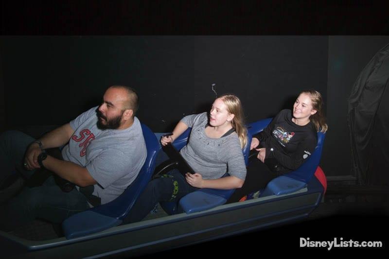 Space Mountain Ride Photo