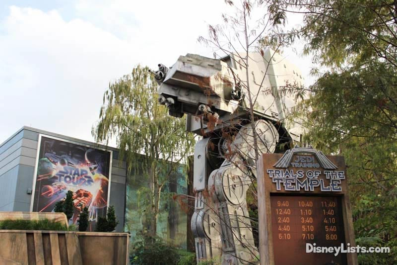 Star Tours with Temple
