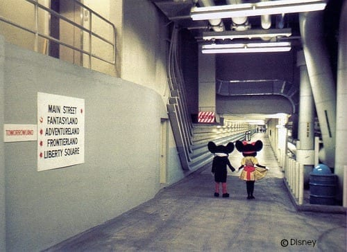 mickey and minnie utilidors