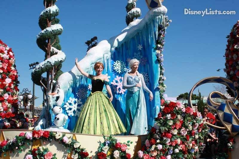Anna and Elsa-Festival of Fantasy